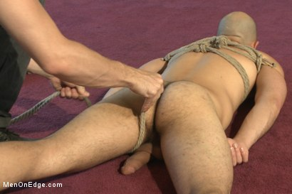 Photo number 2 from Edging super hard 9 inch cock shot for Men On Edge on Kink.com. Featuring Dylan Strokes in hardcore BDSM & Fetish porn.