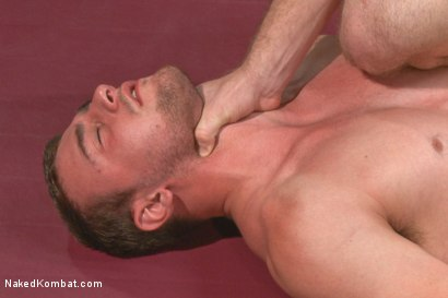 """Photo number 10 from Doug """"The Destroyer"""" Acre vs Scott """"The Marine"""" Harbor  shot for Naked Kombat on Kink.com. Featuring Doug Acre and Scott Harbor in hardcore BDSM & Fetish porn."""