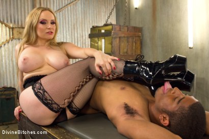 Photo number 8 from Fresh Meat Bondage Sex shot for Divine Bitches on Kink.com. Featuring Eros Sin and Aiden Starr in hardcore BDSM & Fetish porn.
