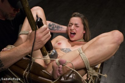 Photo number 1 from Missy Minks Spanked Into Submission shot for Sadistic Rope on Kink.com. Featuring Missy Minks in hardcore BDSM & Fetish porn.