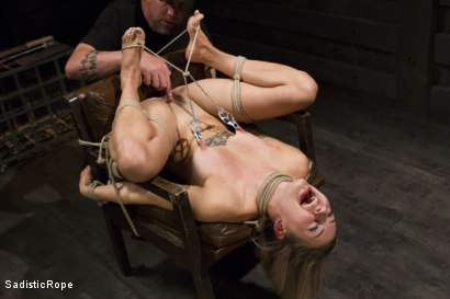 Photo number 2 from Missy Minks Spanked Into Submission shot for Sadistic Rope on Kink.com. Featuring Missy Minks in hardcore BDSM & Fetish porn.