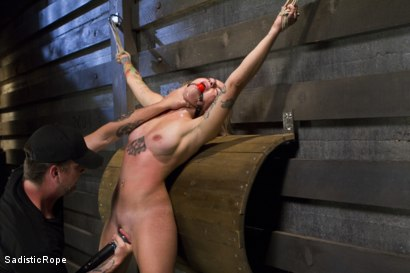 Photo number 5 from Missy Minks Spanked Into Submission shot for Sadistic Rope on Kink.com. Featuring Missy Minks in hardcore BDSM & Fetish porn.