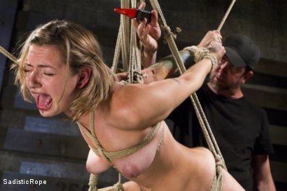 Photo number 8 from Missy Minks Spanked Into Submission shot for Sadistic Rope on Kink.com. Featuring Missy Minks in hardcore BDSM & Fetish porn.