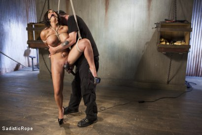 Photo number 3 from Newcomer - Almost Isn't Good Enough, Whore!! shot for Sadistic Rope on Kink.com. Featuring Alexa Pierce in hardcore BDSM & Fetish porn.