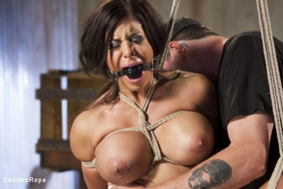 Photo number 4 from Newcomer - Almost Isn't Good Enough, Whore!! shot for Sadistic Rope on Kink.com. Featuring Alexa Pierce in hardcore BDSM & Fetish porn.
