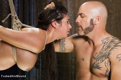Photo number 12 from Daddy's Slut shot for  on Kink.com. Featuring Derrick Pierce and Alexa Pierce in hardcore BDSM & Fetish porn.