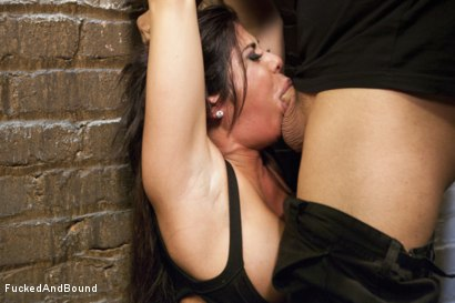 Photo number 4 from Daddy's Slut shot for  on Kink.com. Featuring Derrick Pierce and Alexa Pierce in hardcore BDSM & Fetish porn.