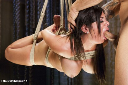Photo number 9 from Daddy's Slut shot for  on Kink.com. Featuring Derrick Pierce and Alexa Pierce in hardcore BDSM & Fetish porn.