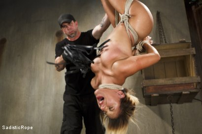 Photo number 8 from Young Latin Pain Slut shot for Sadistic Rope on Kink.com. Featuring Liv Aguilera in hardcore BDSM & Fetish porn.