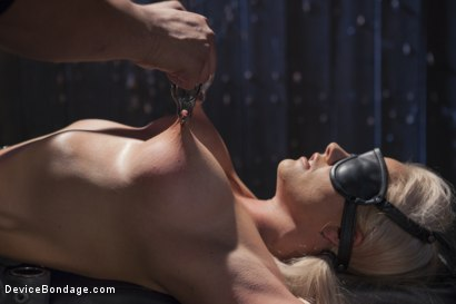 Photo number 9 from Blonde MILF Gets Devastated with Sensory Overload!! shot for Device Bondage on Kink.com. Featuring Holly Heart and Orlando in hardcore BDSM & Fetish porn.