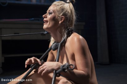 Photo number 2 from Blonde MILF Gets Devastated with Sensory Overload!! shot for Device Bondage on Kink.com. Featuring Holly Heart and Orlando in hardcore BDSM & Fetish porn.