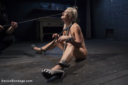 Photo number 3 from Blonde MILF Gets Devastated with Sensory Overload!! shot for Device Bondage on Kink.com. Featuring Holly Heart and Orlando in hardcore BDSM & Fetish porn.