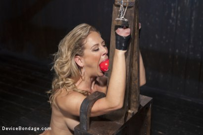 Photo number 11 from Penance  shot for Device Bondage on Kink.com. Featuring Cherie DeVille in hardcore BDSM & Fetish porn.
