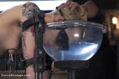 Photo number 10 from Recipe for Disaster shot for Device Bondage on Kink.com. Featuring Orlando and Elizabeth Thorn in hardcore BDSM & Fetish porn.