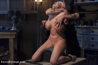 Photo number 3 from Summer Brielle - Broken Porn Star shot for Device Bondage on Kink.com. Featuring Summer Brielle in hardcore BDSM & Fetish porn.