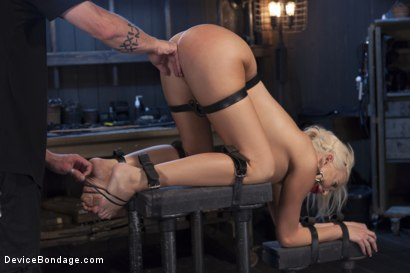 Photo number 6 from Summer Brielle - Broken Porn Star shot for Device Bondage on Kink.com. Featuring Summer Brielle in hardcore BDSM & Fetish porn.