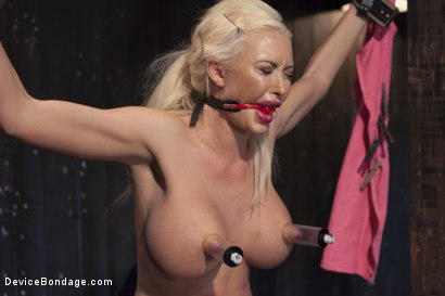 Photo number 12 from Summer Brielle - Broken Porn Star shot for Device Bondage on Kink.com. Featuring Summer Brielle in hardcore BDSM & Fetish porn.
