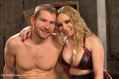 Photo number 6 from Sexual Slavery shot for Divine Bitches on Kink.com. Featuring Aiden Starr and Alex Adams in hardcore BDSM & Fetish porn.