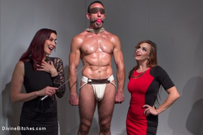 Photo number 11 from Chastity Cock Suck shot for Divine Bitches on Kink.com. Featuring Bella Rossi and Jason Miller in hardcore BDSM & Fetish porn.