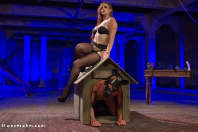 Photo number 6 from Chastity Cock Suck shot for Divine Bitches on Kink.com. Featuring Bella Rossi and Jason Miller in hardcore BDSM & Fetish porn.