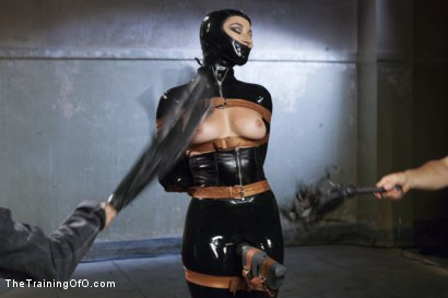 Photo number 3 from The Objectification of Dani Daniels shot for The Training Of O on Kink.com. Featuring Dani Daniels and Tommy Pistol in hardcore BDSM & Fetish porn.