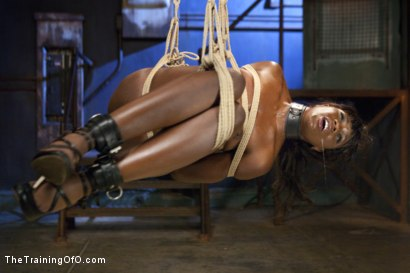 Photo number 13 from Ana's Orgasm Denial and Control, Day Three shot for The Training Of O on Kink.com. Featuring Ana Foxxx and Gage Sin in hardcore BDSM & Fetish porn.
