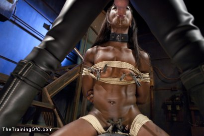 Photo number 3 from Ana's Orgasm Denial and Control, Day Three shot for The Training Of O on Kink.com. Featuring Ana Foxxx and Gage Sin in hardcore BDSM & Fetish porn.