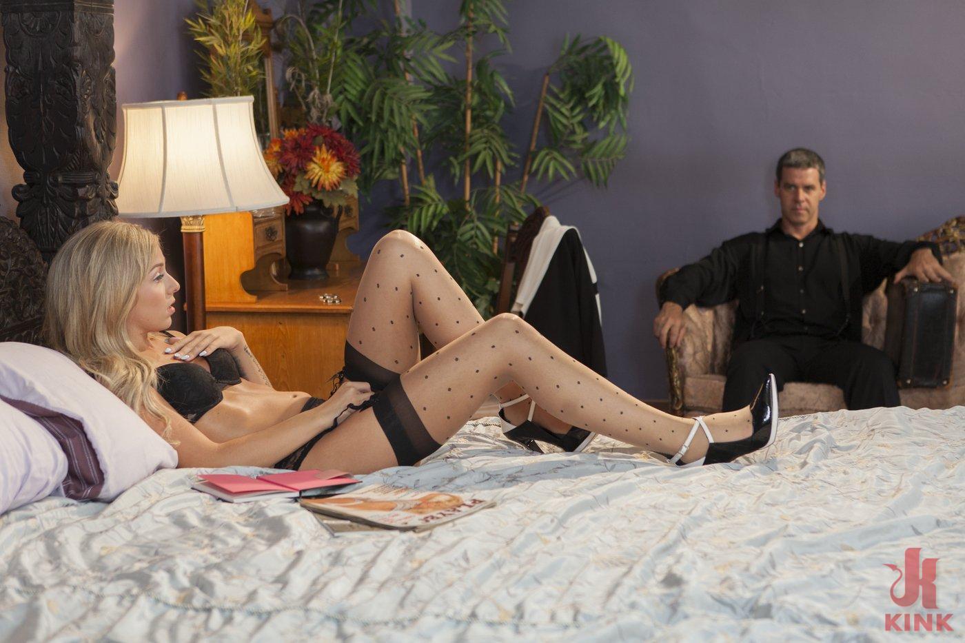 Photo number 3 from Desperate Girlfriend's Bondage Fantasy shot for Hogtied on Kink.com. Featuring Madelyn Monroe in hardcore BDSM & Fetish porn.