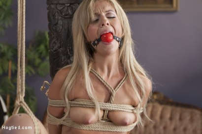 Photo number 6 from Desperate Girlfriend's Bondage Fantasy shot for Hogtied on Kink.com. Featuring Madelyn Monroe in hardcore BDSM & Fetish porn.