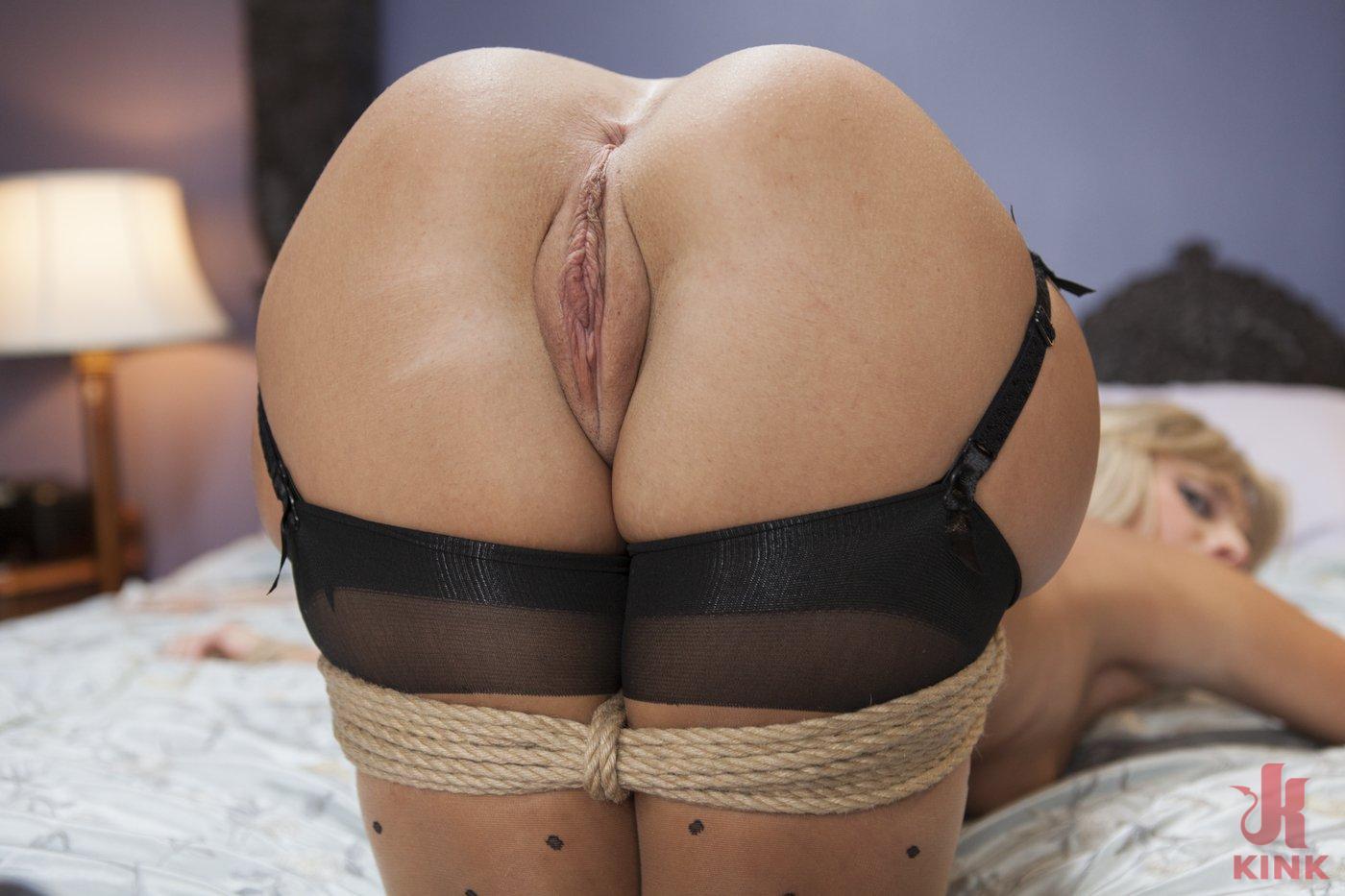 Photo number 8 from Desperate Girlfriend's Bondage Fantasy shot for Hogtied on Kink.com. Featuring Madelyn Monroe in hardcore BDSM & Fetish porn.