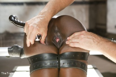 Photo number 6 from Orgasm Denial and Control - Final Day shot for The Training Of O on Kink.com. Featuring Ana Foxxx and Owen Gray in hardcore BDSM & Fetish porn.