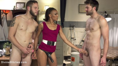 Photo number 12 from Cuckolding Therapy shot for Divine Bitches on Kink.com. Featuring Wolf Hudson, Nikki Darling and Abel Archer in hardcore BDSM & Fetish porn.
