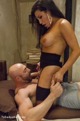 Photo number 1 from Creepy Hotel, Hot Sex - Jaquelin Braxton in a Rare Switch Scene shot for TS Seduction on Kink.com. Featuring Jaquelin Braxton and Tatum in hardcore BDSM & Fetish porn.