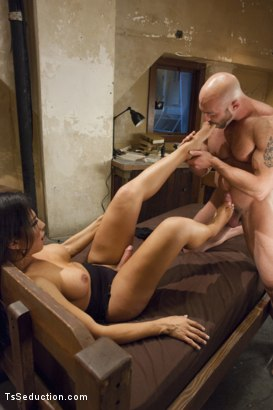 Photo number 10 from Creepy Hotel, Hot Sex - Jaquelin Braxton in a Rare Switch Scene shot for TS Seduction on Kink.com. Featuring Jaquelin Braxton and Tatum in hardcore BDSM & Fetish porn.