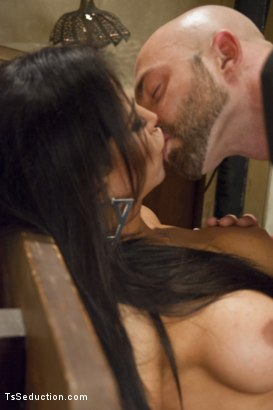 Photo number 12 from Creepy Hotel, Hot Sex - Jaquelin Braxton in a Rare Switch Scene shot for TS Seduction on Kink.com. Featuring Jaquelin Braxton and Tatum in hardcore BDSM & Fetish porn.
