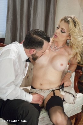 Photo number 4 from Mistress Tyra Scott Humiliates and Fucks a VERY Tight Ass Man slave shot for TS Seduction on Kink.com. Featuring Tyra Scott and Danny Oak in hardcore BDSM & Fetish porn.