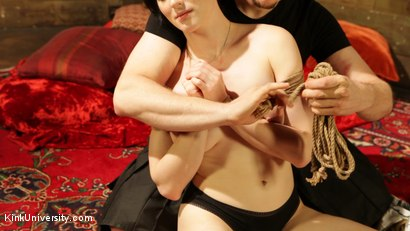Photo number 4 from Intimate Connection Through Rope shot for Kink University on Kink.com. Featuring Tifereth and Cannon in hardcore BDSM & Fetish porn.
