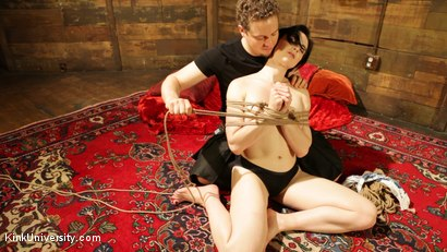 Photo number 6 from Intimate Connection Through Rope shot for Kink University on Kink.com. Featuring Tifereth and Cannon in hardcore BDSM & Fetish porn.