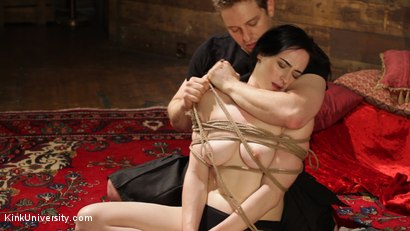 Photo number 9 from Intimate Connection Through Rope shot for Kink University on Kink.com. Featuring Tifereth and Cannon in hardcore BDSM & Fetish porn.