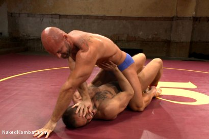 Photo number 1 from Naked Kombat's Summer Smackdown Tournament - Match 3 shot for Naked Kombat on Kink.com. Featuring Mitch Vaughn and Brock Avery in hardcore BDSM & Fetish porn.