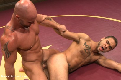 Photo number 14 from Naked Kombat's Summer Smackdown Tournament - Match 3 shot for Naked Kombat on Kink.com. Featuring Mitch Vaughn and Brock Avery in hardcore BDSM & Fetish porn.