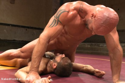 Photo number 12 from Naked Kombat's Summer Smackdown Tournament - Match 3 shot for Naked Kombat on Kink.com. Featuring Mitch Vaughn and Brock Avery in hardcore BDSM & Fetish porn.