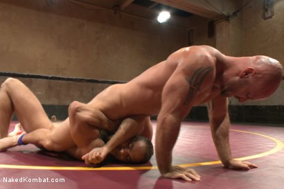 Photo number 5 from Naked Kombat's Summer Smackdown Tournament - Match 3 shot for Naked Kombat on Kink.com. Featuring Mitch Vaughn and Brock Avery in hardcore BDSM & Fetish porn.