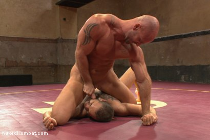 Photo number 7 from Naked Kombat's Summer Smackdown Tournament - Match 3 shot for Naked Kombat on Kink.com. Featuring Mitch Vaughn and Brock Avery in hardcore BDSM & Fetish porn.