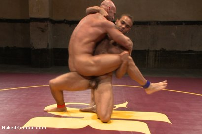 Photo number 2 from Naked Kombat's Summer Smackdown Tournament - Match 3 shot for Naked Kombat on Kink.com. Featuring Mitch Vaughn and Brock Avery in hardcore BDSM & Fetish porn.