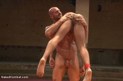 Photo number 10 from Naked Kombat's Summer Smackdown Tournament - Match 3 shot for Naked Kombat on Kink.com. Featuring Mitch Vaughn and Brock Avery in hardcore BDSM & Fetish porn.