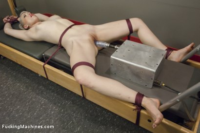 Photo number 4 from Ella is so Fine Tied up & Fucked By Machines She SQUIRTS UNEXPECTEDLY! shot for Fucking Machines on Kink.com. Featuring Ella Nova in hardcore BDSM & Fetish porn.