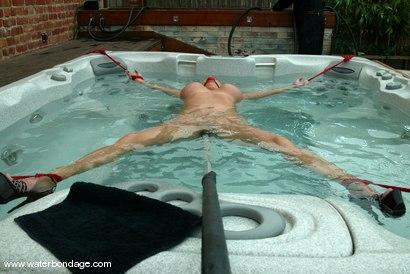 Photo number 3 from Christina Carter shot for Water Bondage on Kink.com. Featuring Christina Carter in hardcore BDSM & Fetish porn.