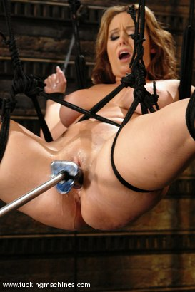 Photo number 9 from Christina Carter shot for Fucking Machines on Kink.com. Featuring Christina Carter in hardcore BDSM & Fetish porn.