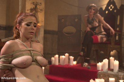 Photo number 6 from Le Dragon Rouge: A Whipped Ass Halloween Feature Presentation Part 1 shot for Whipped Ass on Kink.com. Featuring Penny Pax and Mona Wales in hardcore BDSM & Fetish porn.